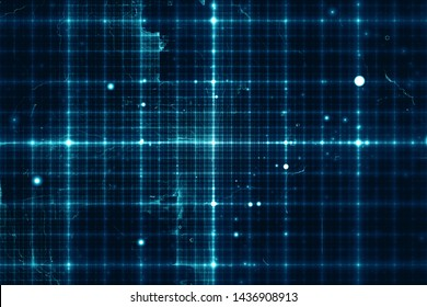 Abstract data grid lines technology background