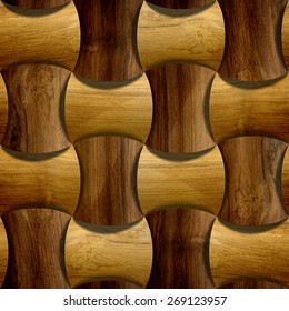 abstract decorative blocks tiles 3d 260nw 269123957