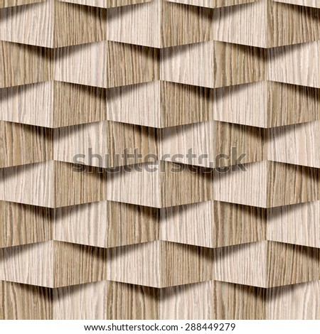 Abstract Decorative Design Interior Wall Panel Stock Illustration