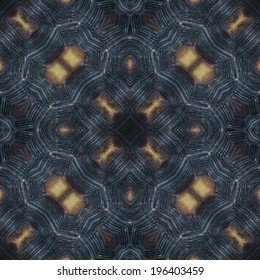 abstract decorative design pattern of tortoise shell texture
