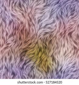 Abstract decorative fur texture. Seamless Pattern. Illustration