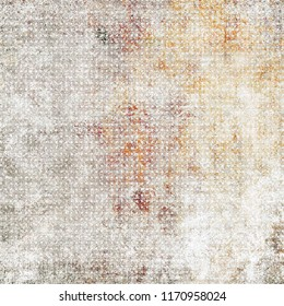 Abstract decorative pattern expanding color and texture background. Abstract image, retro wallpaper. Old paper textures - perfect background with space.