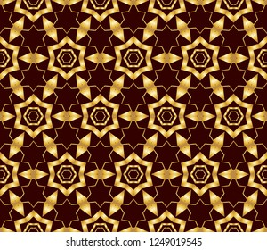 Abstract decorative vintage texture. Illustration for design. geometric seamless pattern.