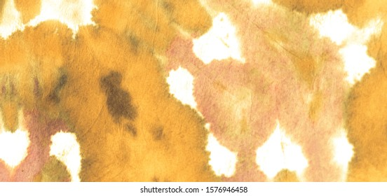 Abstract Design Orange .Tie Dye Dirty Art. Abstract Dyed Texture. Abstract Design .Bright Rough Ornaments Cover. Pale Tie Dye Abstract Banner. Trendy Fashion Watercolour.