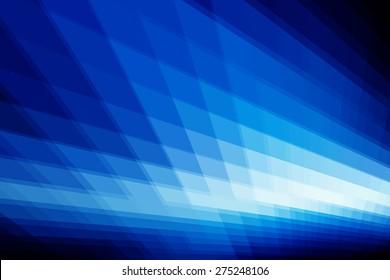 Abstract Digital Art Blue Background Design