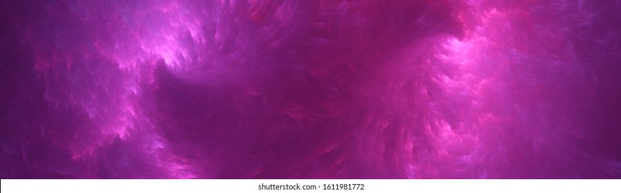 Abstract digital cosmic background with lights