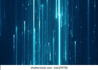 Abstraktní digitální sci-fi pozadí