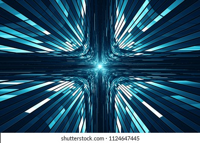 Abstract digital science fiction futuristic background