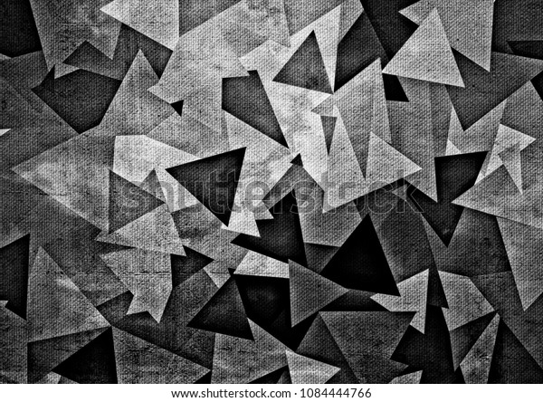 Abstract Drawing Geometric Shapes Stock Illustration 1084444766