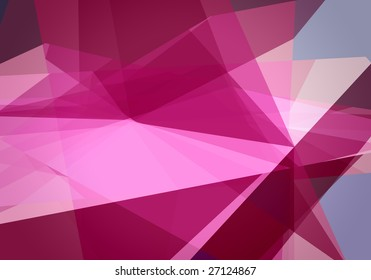 abstract dynamic 3D composition