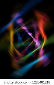 Abstract dynamic multicolore background. Motion illustration.