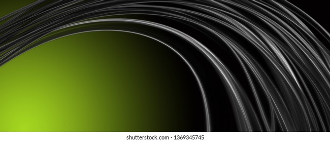 Abstract elegant eco wave panorama background design illustration
