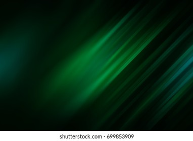 Abstract emerald defocused with particles. Fashionable background illustration.