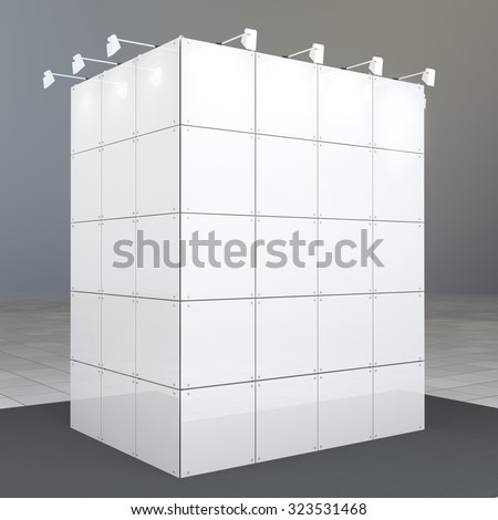Exhibition Booth Blank : Exhibition fair show company stand booth empty blank buy this