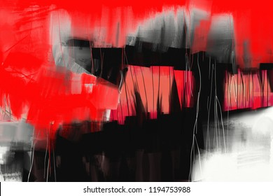 abstract expressionist style oil painting background
