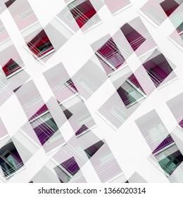 Abstract Facade Illustration