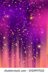 abstract fairy tale children's holiday background purple pink orange.