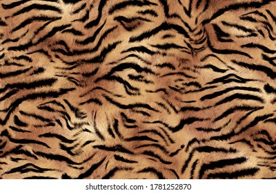 abstract feathered tiger skin background pattern