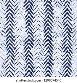 Abstract Fishbone Stripe Bleached Effect Textured Background. Seamless Pattern.