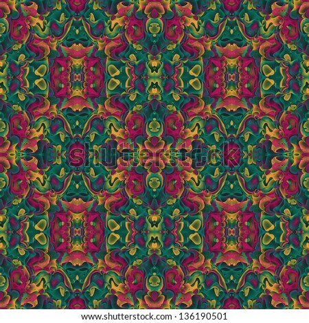 Royalty Free Stock Illustration Of Abstract Flora Fauna Fractal Art