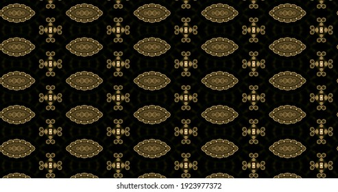 Abstract floral pattern using plastic effect colors. Creative Background