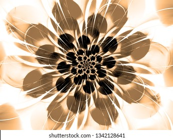 abstract flower. holydays abstract background. multicolored shiny background