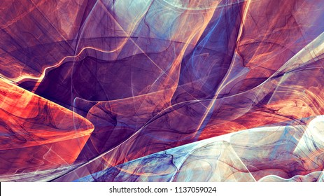 Abstract fluid multicolor artistic pattern. Liquid ink. Bright abstract background. Trendy painting exture. Fractal artwork for creative graphic design