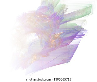 Abstract fractal background. Faded page.