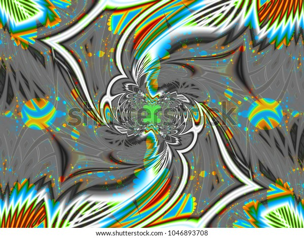 Abstract Fractal Background Flower Dance Computergenerated Stock Illustration 1046893708,Free T Shirt Design Maker