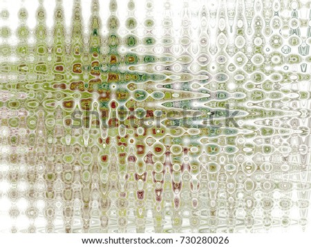 Abstract fractal background Opaque glass computer image. Beautiful abstract background for wallpaper, album,