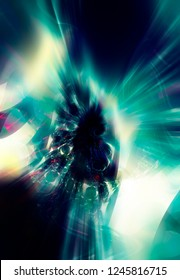 Abstract fractal colorful background. Magic illustration.