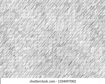 abstract fractal geometric black and white graphic background