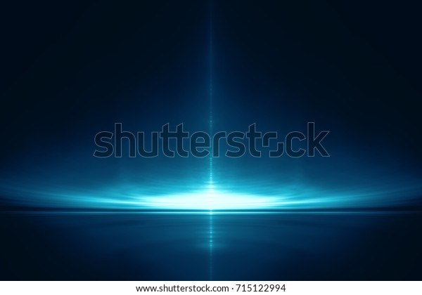 Abstract fractal landscape background