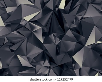 abstract futuristic crystal background