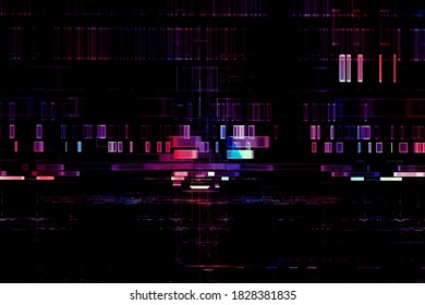 Abstrakter, futuristischer, digitaler Tech-Hintergrund
