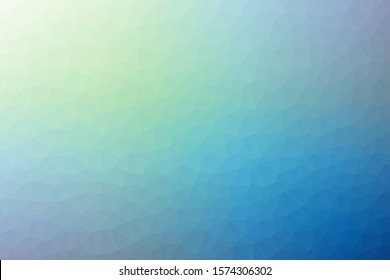 Abstract generated colored art background illustration. Colors: pacific blue, cerulean, manatee, midnight blue, blue green.