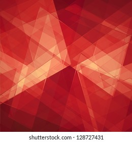 abstract geometric background design shape pattern, futuristic background, technology business presentation report cover, angled triangle pattern shape art, glass texture, white red background wall