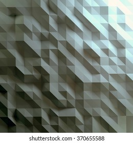 Abstract geometric background. Low poly style