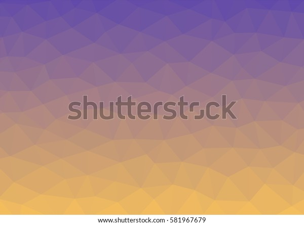 Abstract geometric background with triangles. Triangular shape for your design. Creative polygonal style. Illustration.
