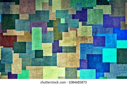 Abstract geometric drawing