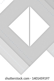 Abstract Geometric Pattern Gray and White Shapes. Image dimensions : 2900x4060px,300dpi high resolution .jpg