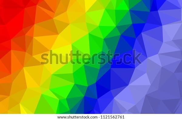 Abstract Geometric Shape Wallpaper Idea Desktop Stock