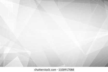 Abstract geometric white and gray Background. with space for concept design Technology and modern.