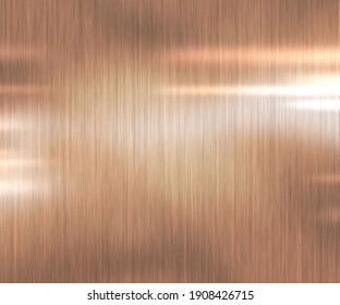 Abstract glossy copper texture background