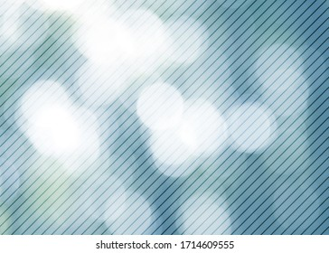 Abstract glow photo and striped pattern