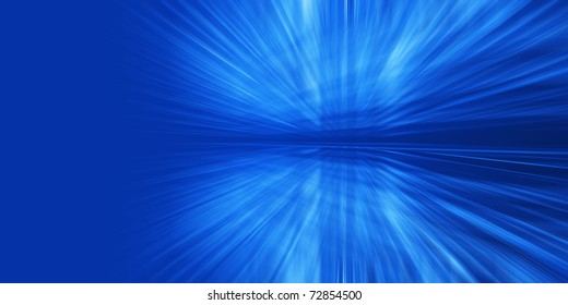 Abstract glowed rays. Image based on my own 3d scene