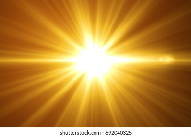 abstract glowing light  sun burst with digital lens flare background. effect decoration with ray sparkles