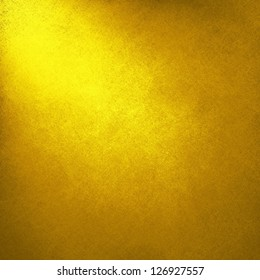 abstract gold background yellow color, light corner spotlight, faint vintage grunge background texture gold yellow paper layout design for warm colorful background, rich bright sunny color, summer ad