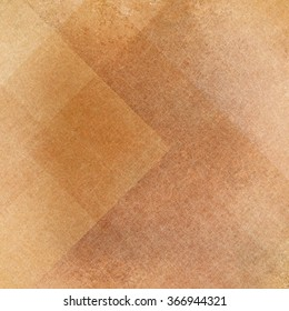 Abstract gold and brown background, squares rectangles and  triangles in geometric pattern design. Textured yellow brown paper. Diagonal block pattern. Diamond shapes and line design elements.
