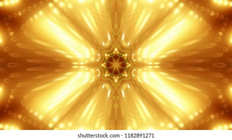Abstract gold club,party,stage lights are well suited for tv shows, concerts ,music protections , vj projections at parties in night clubs, discos and  trance events.